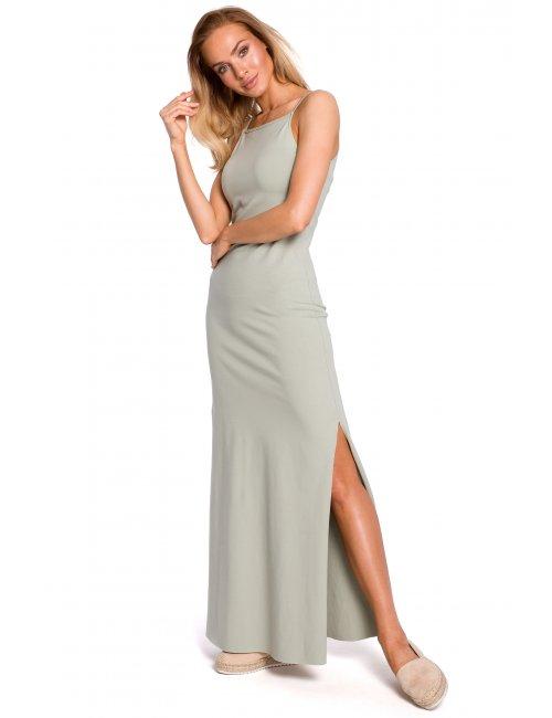 Ženska pamučna duga haljina M432 MOE