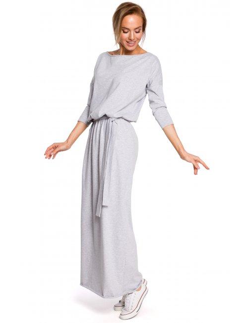 Ženska pamučna duga haljina M435 MOE