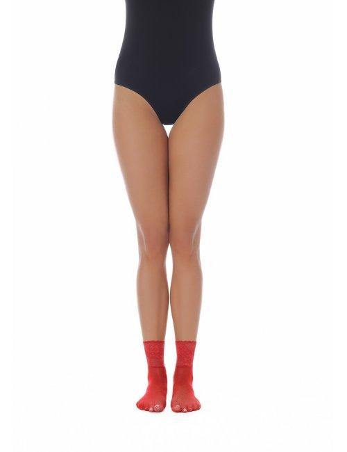 Ženske mrežaste čarape AKEMI 20DEN BasBleu
