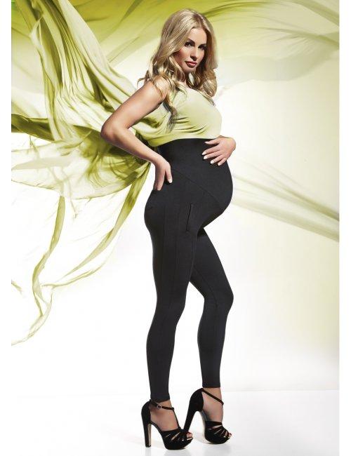 Tehotenské legíny MELANIE 200DEN BasBleu