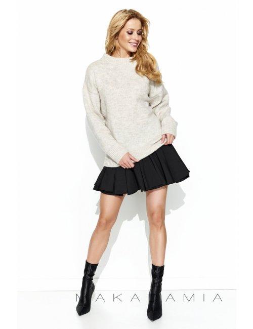Dámsky sveter S63 Makadamia