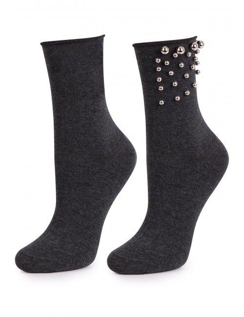 Ženske čarape SILVER TEARS Marilyn tamno sive